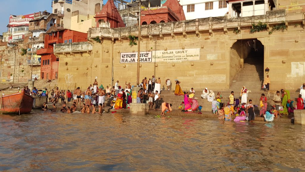 Raja Ghat, Varanasi, India