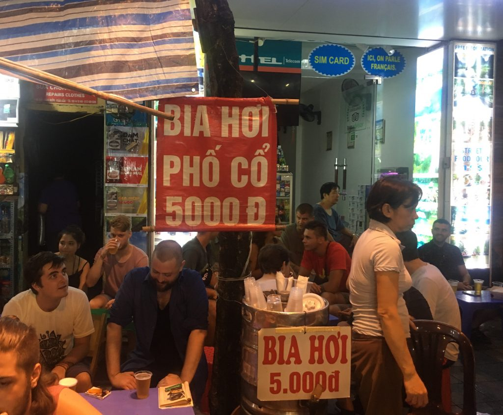 Bia Hoi Corner, Hanoi - Vietnam