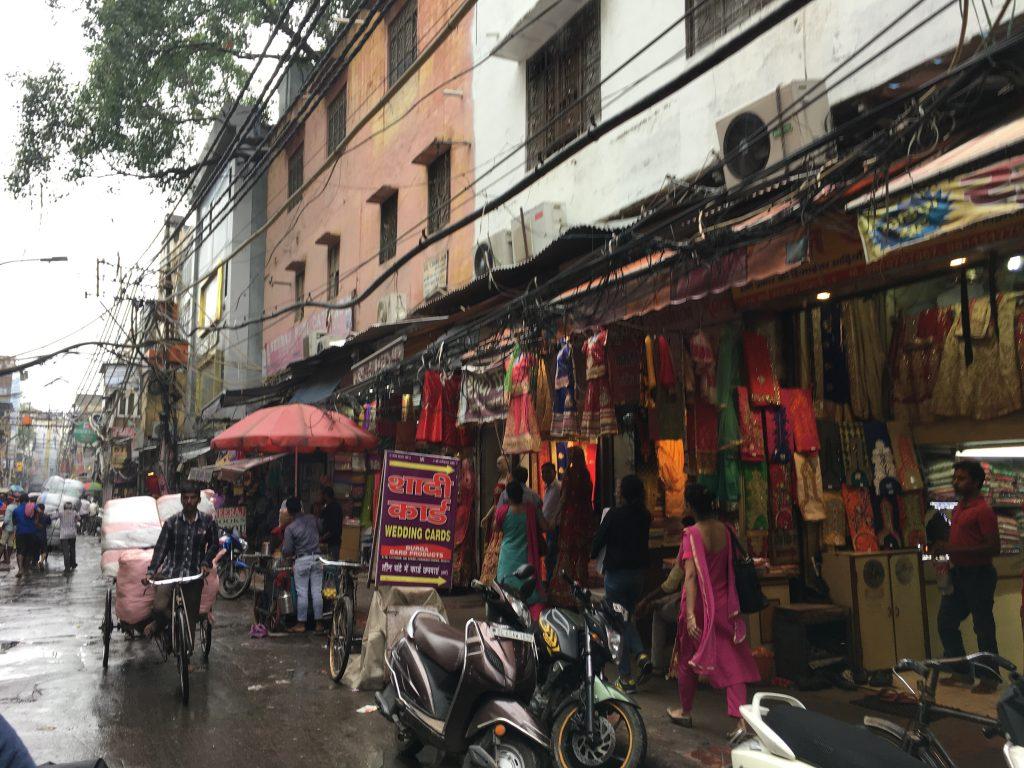 Il mercato Chandni Chowk - New Delhi