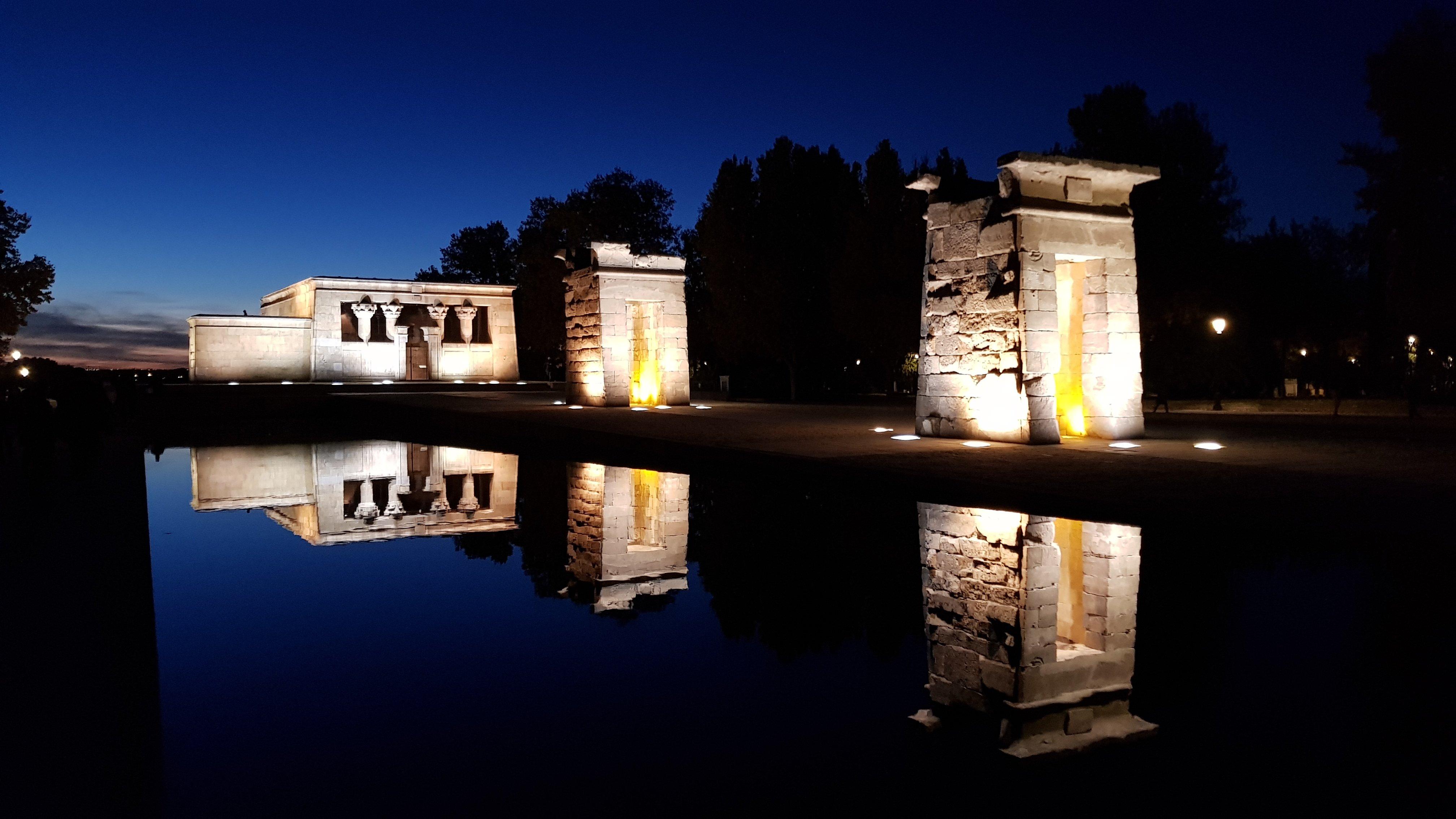 Il Tempio di Debod, Madrid