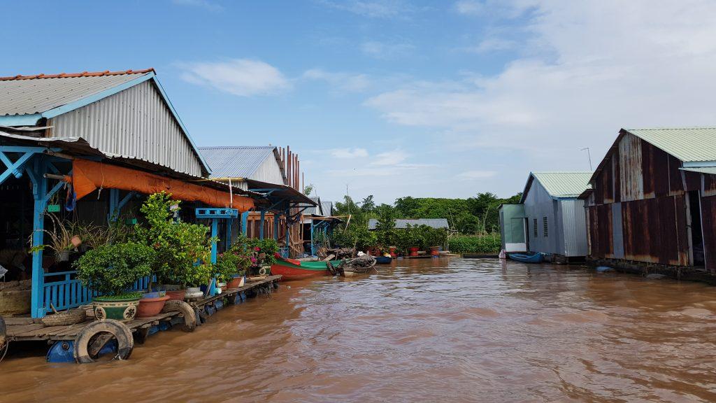 Villaggio di pescatori - Long Xuyen, Delta del Mekong