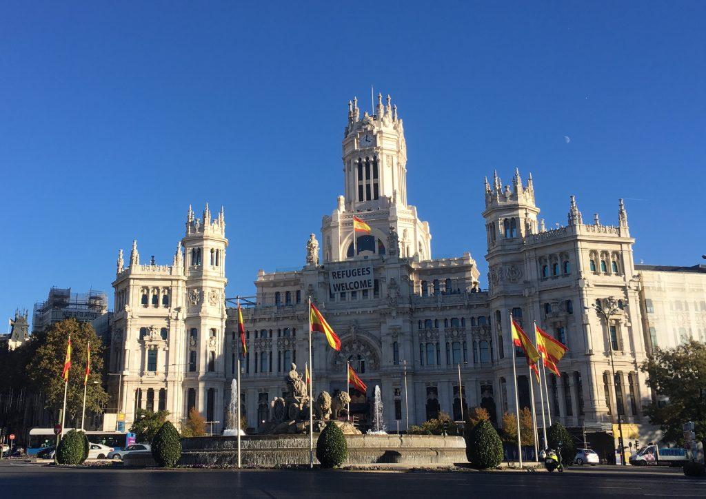 Plaza de Cibeles e Palacio de Comunicaciones, Madrid