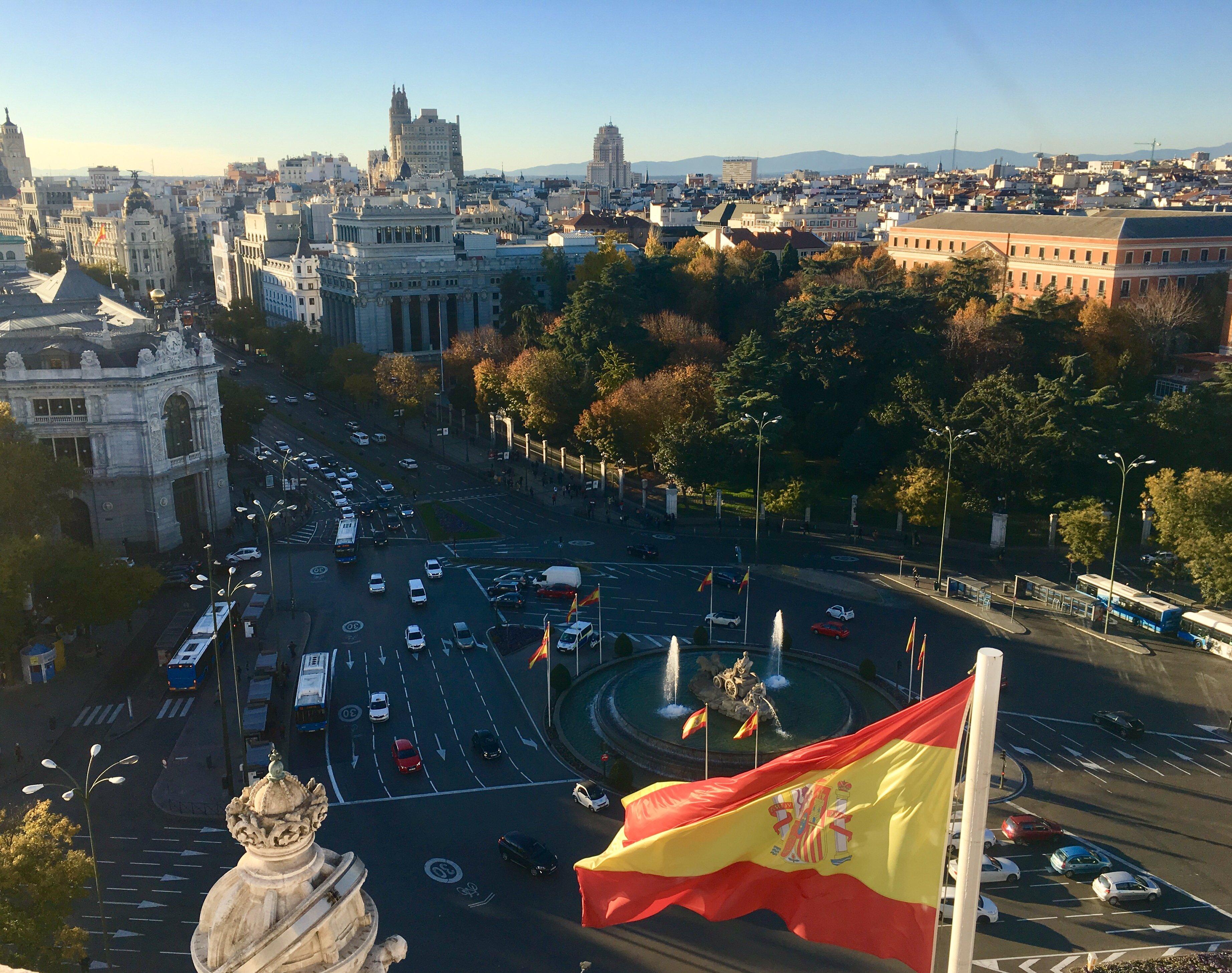 fdae3ae710 Madrid. Capitale della Spagna. La città che non dorme mai.