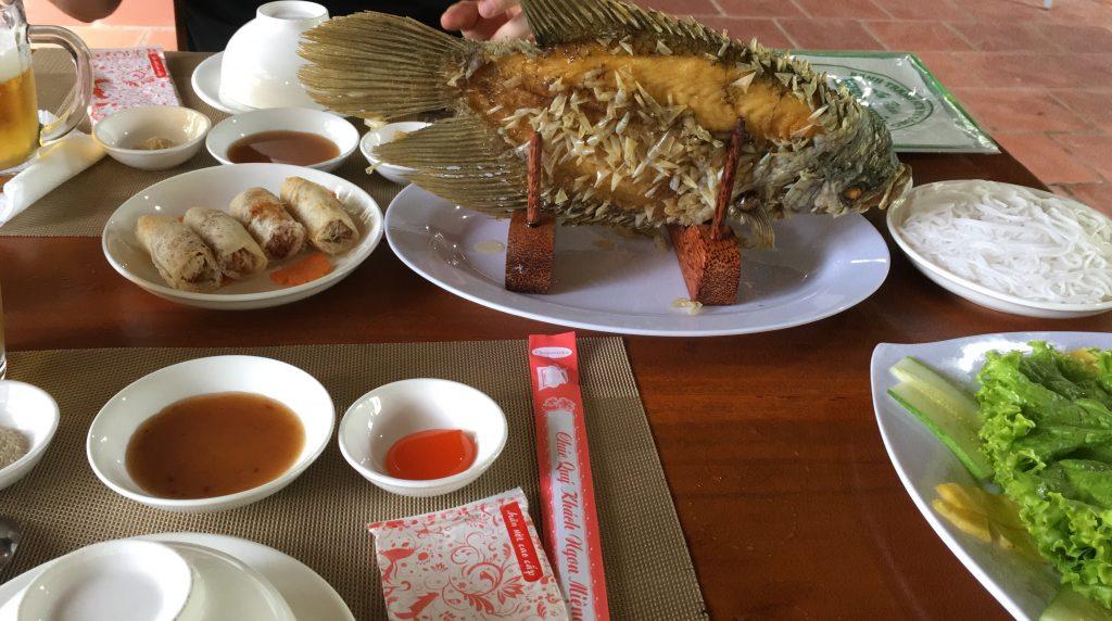 Il nostro primo pranzo vietnamita
