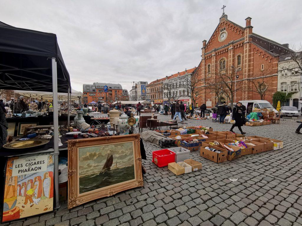 Mercato delle pulci, Bruxelles