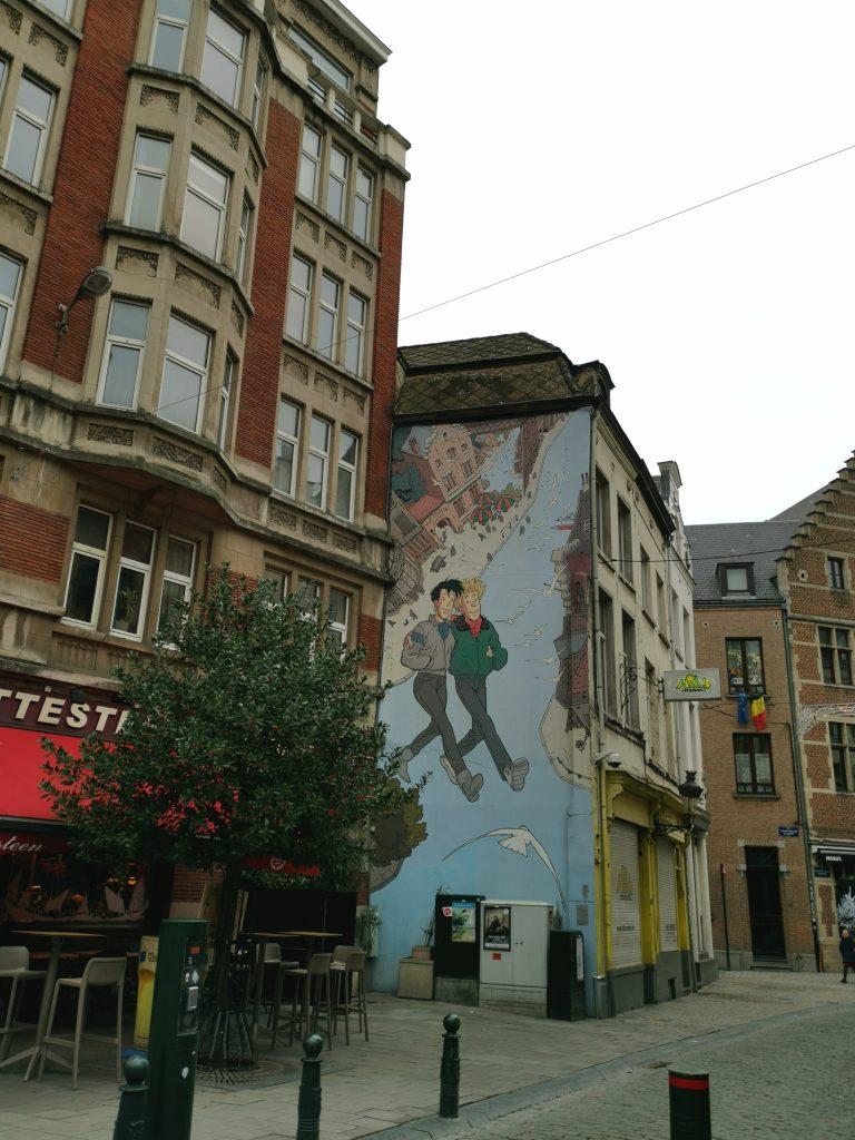 I murales di Bruxelles