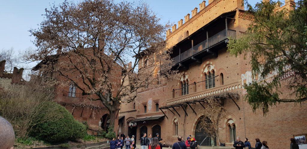 Il Borgo medievale, Parco del Valentino, Torino