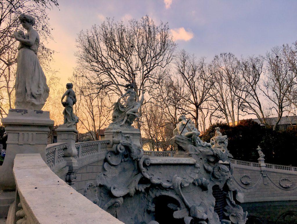 La Fontana dei 12 mesi, Parco del Valentino, Torino