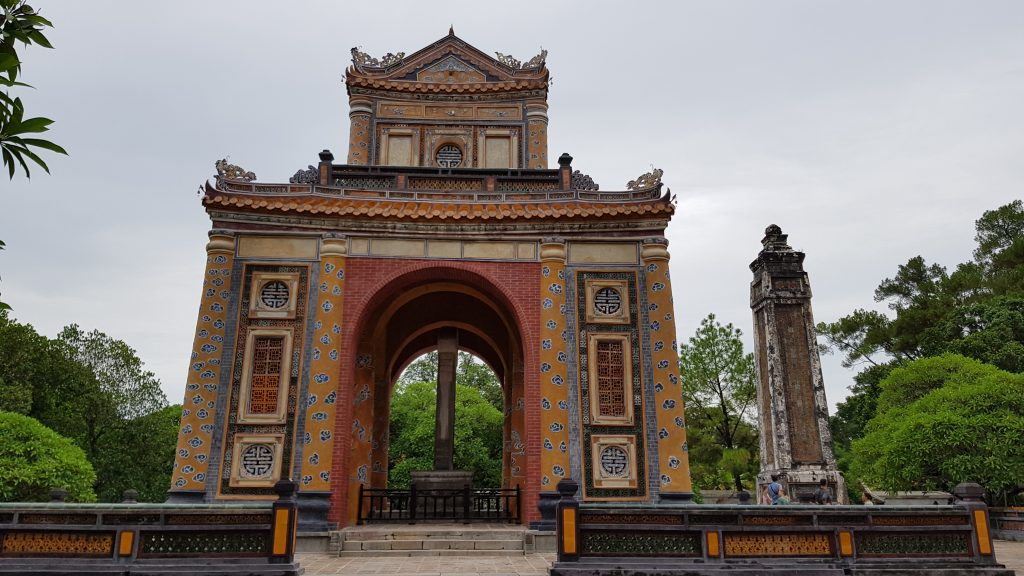 La tomba imperiale di Tu Duc, Hué