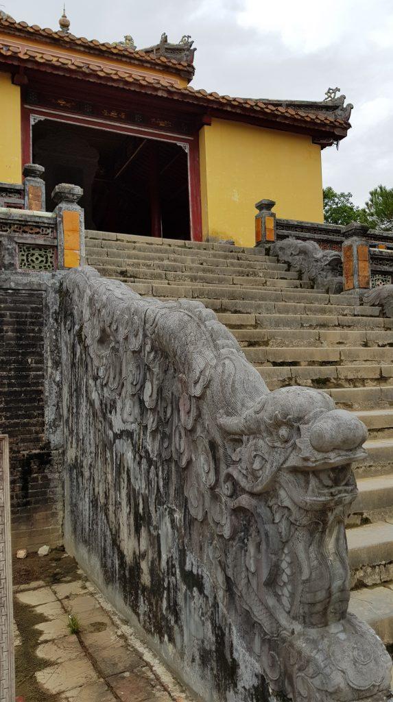 La tomba imperiale di Minh Mang, Hué