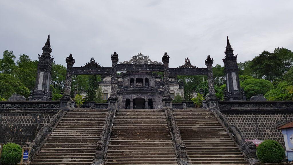 La tomba imperiale di Khai Din, Hué