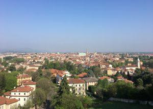 Il panorama dal Monte Berico, Vicenza