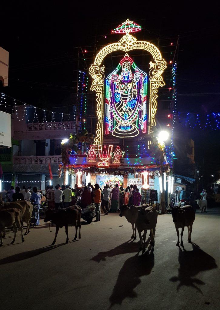 Festival a Mamallapuram