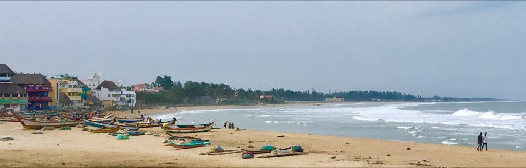 La spiaggia di Mamallapuram
