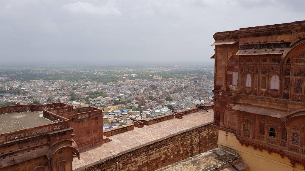 La vista dal Mehrangarh Fort