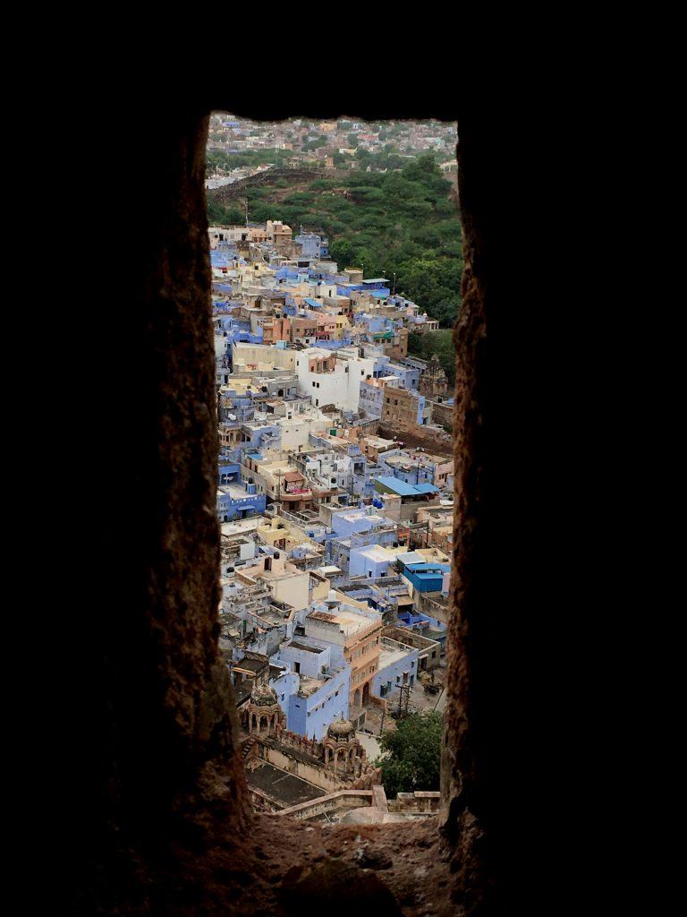 Uno scorcio dal Mehrangarh fort