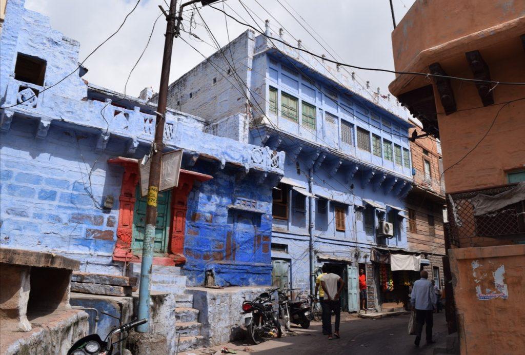 Le case blu di Jodhpur