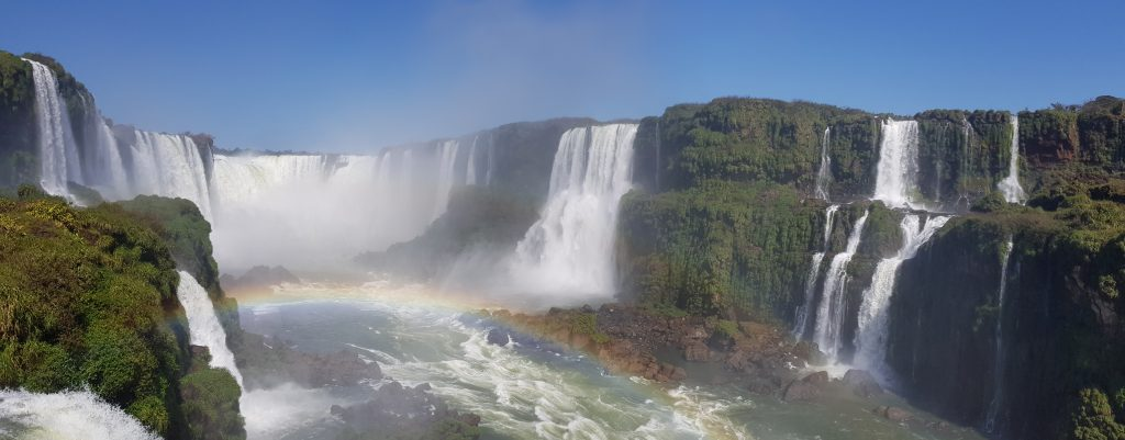Le cascate di Iguazu, lato brasiliano