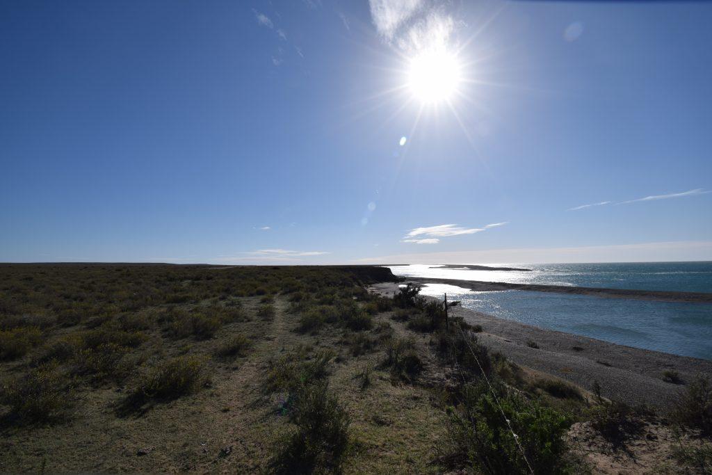 Punta Cantor, Península de Valdés