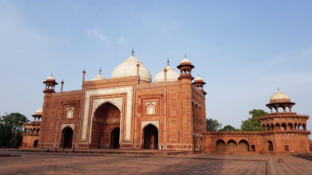 La Moschea, Taj Mahal, India