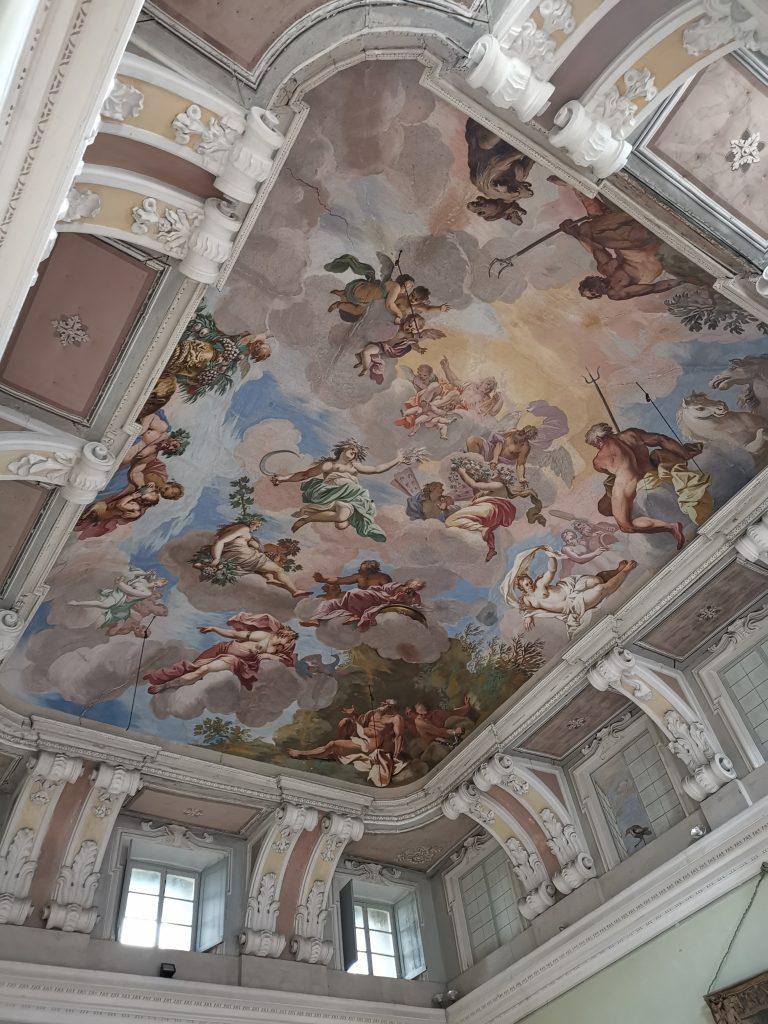 Castello di Chignolo Po, Salone delle Quattro Stagioni