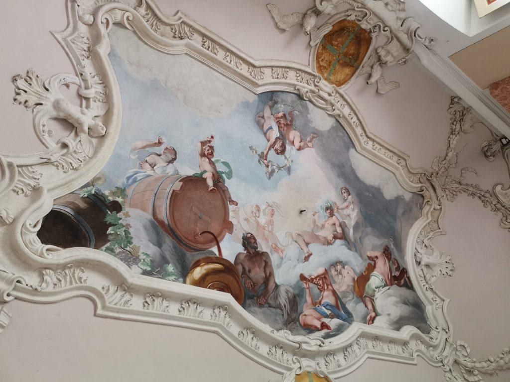 Castello di Chignolo Po, affreschi