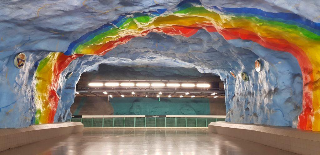 Stadion, Metropolitana di Stoccolma