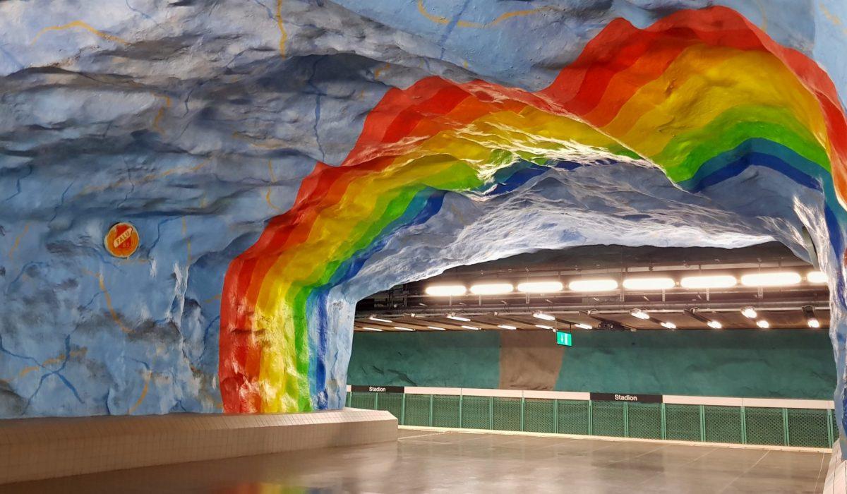La Metropolitana di Stoccolma, un insolito museo sotterraneo