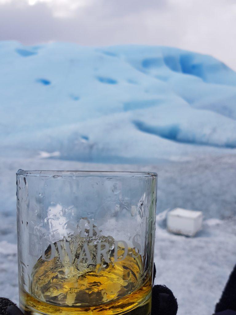Whisky con ghiaccio del Perito Moreno