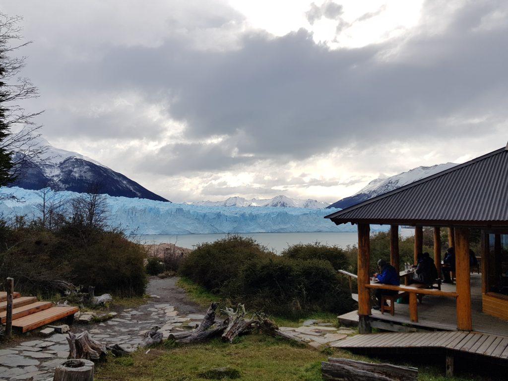 Rifugio Hielo & Aventura con vista sul Perito Moreno