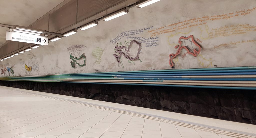 Rissne, Metropolitana di Stoccolma
