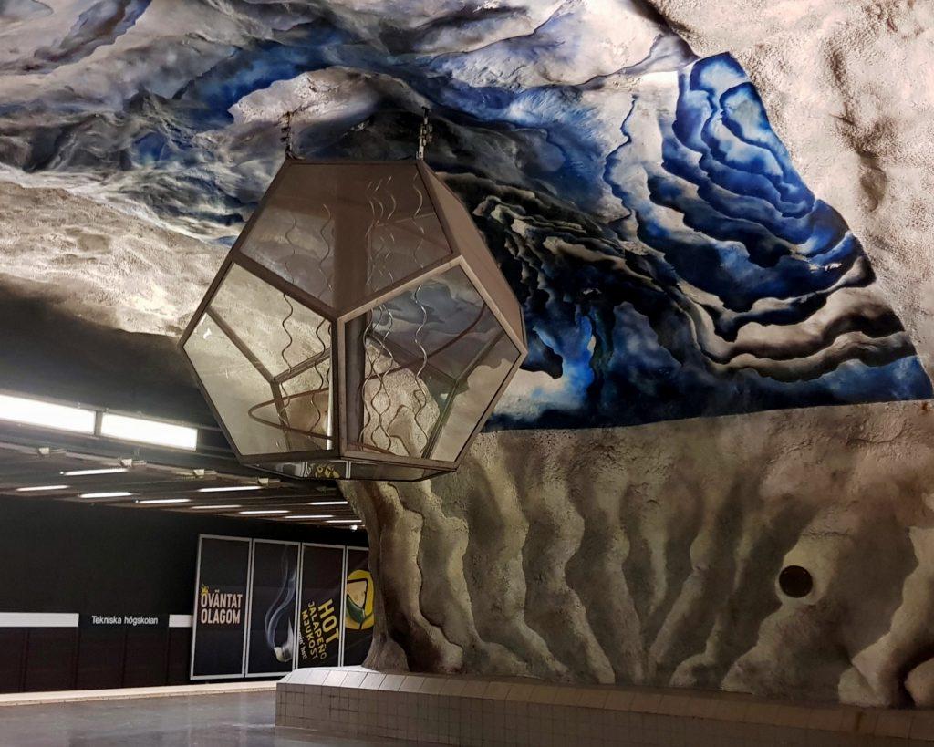 Tekniska högskolan, Metropolitana di Stoccolma