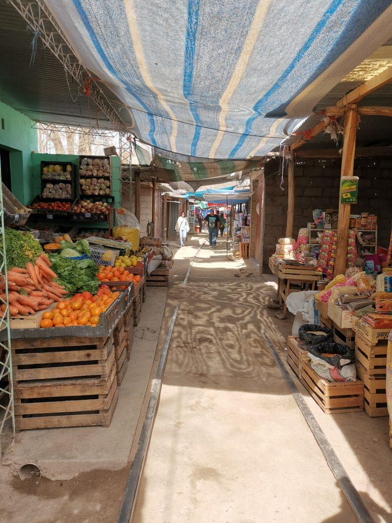 Il mercato di Humahuaca