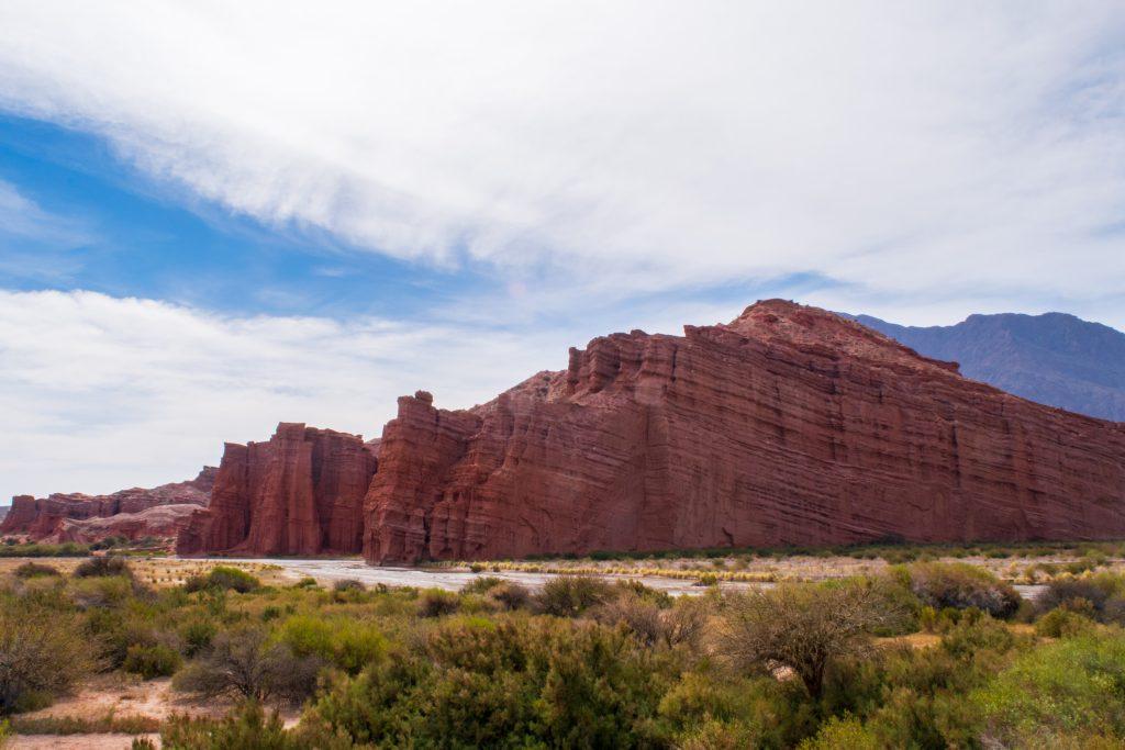 Los Castillos, Quebrada de Cafayate