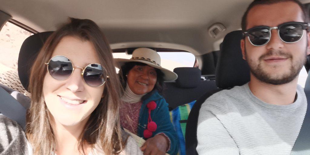 Autostop direzione Cerro de Los Quatorse Colores, Humahuaca