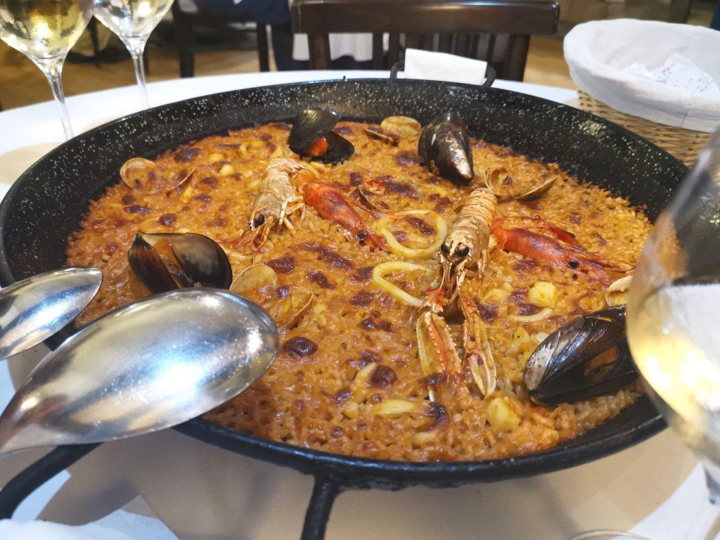 Paella, Barcellona