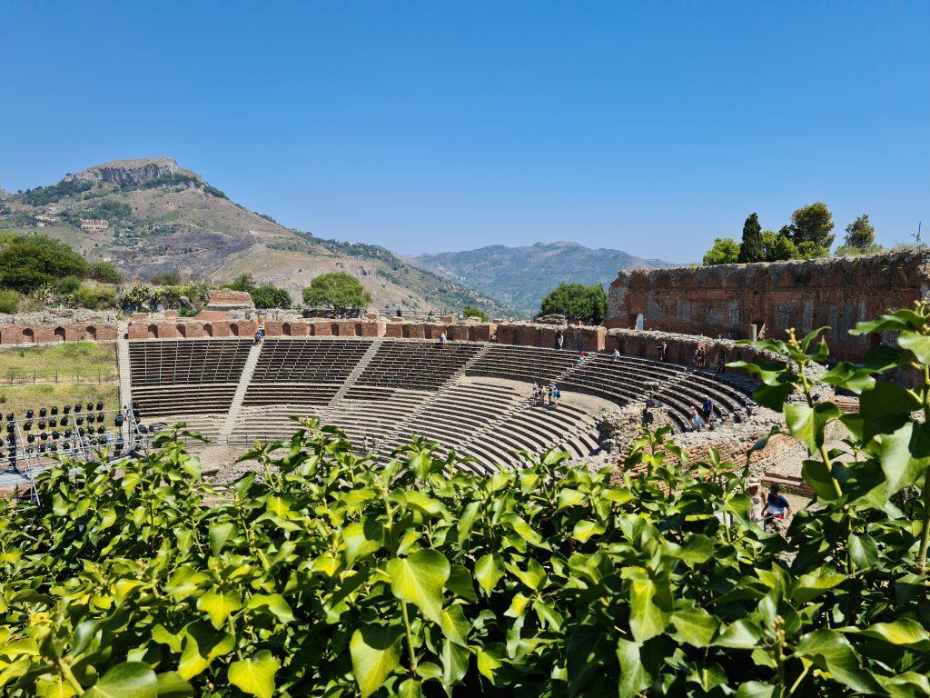 Teatro Greco, Taormina - Sicilia