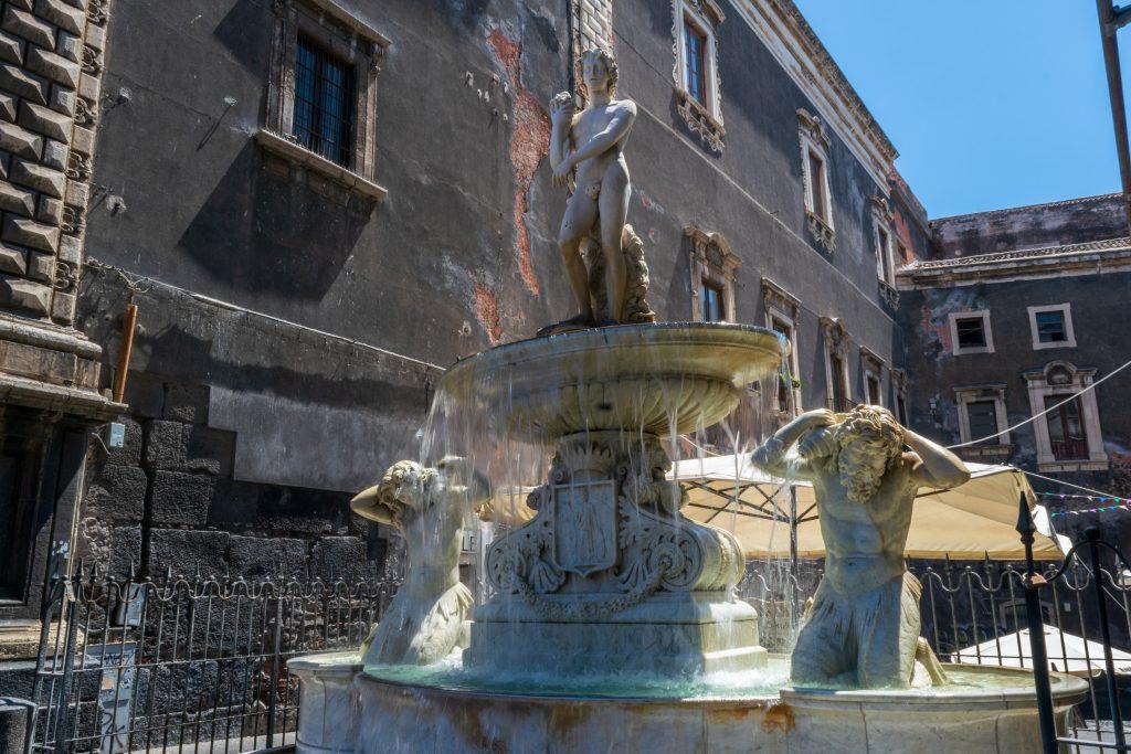 Fontana dell'Amenano, Catania - Sicilia
