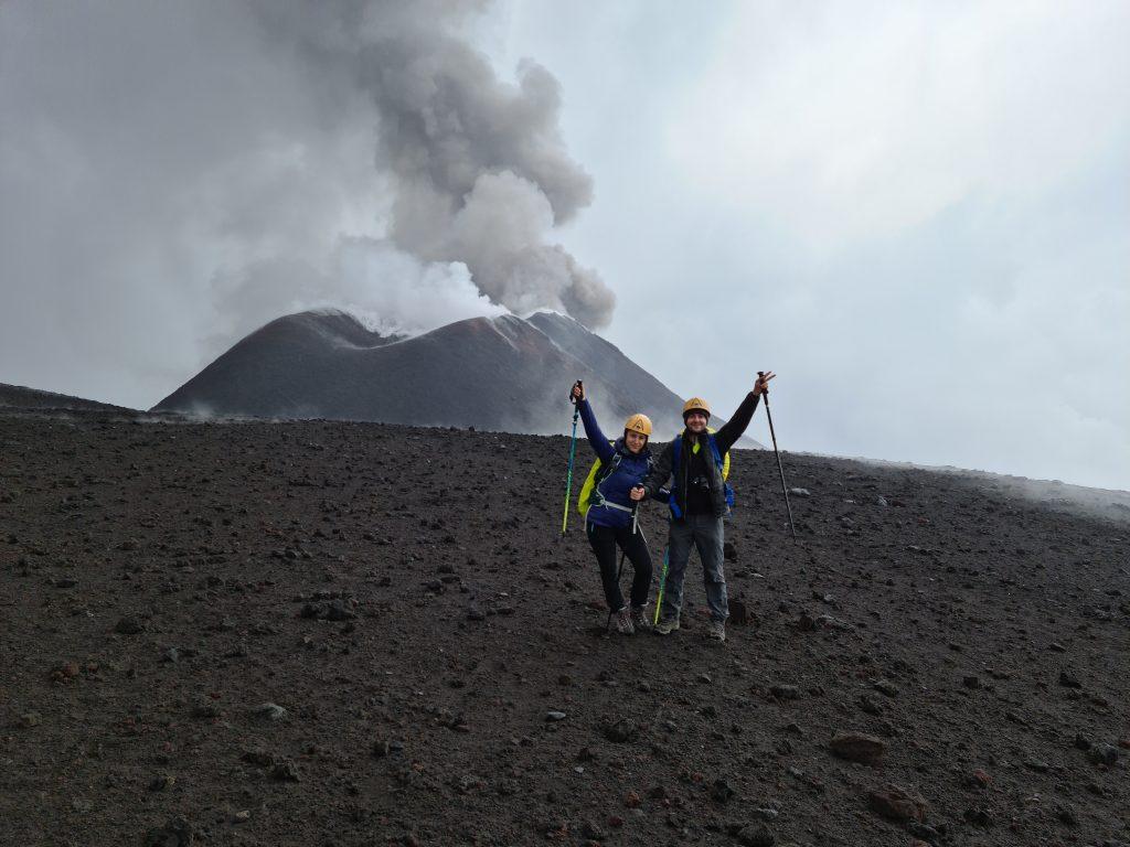 Crateri Sommitali dell'Etna: raggiunti!