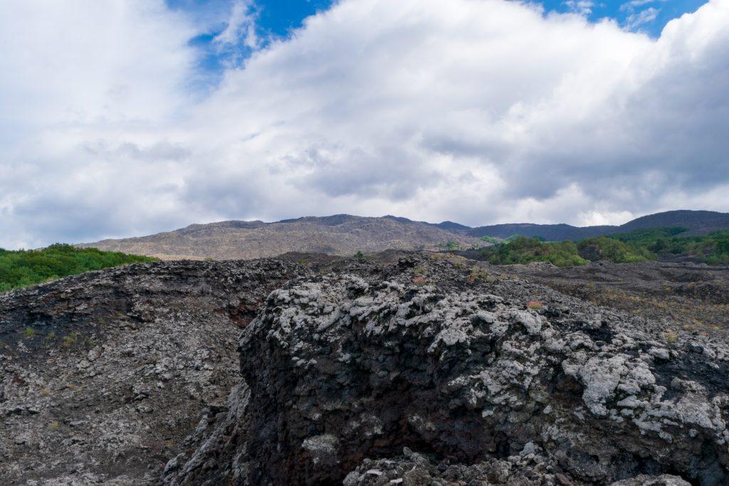Colata lavica del 1981, Etna - Grande traversata etnea