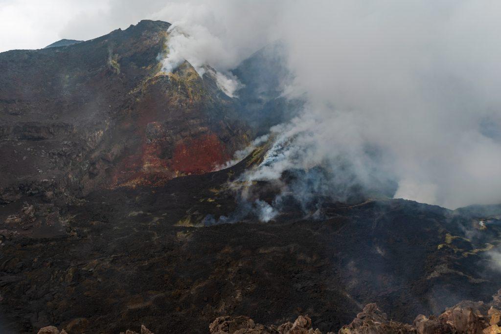 Il Cratere Centrale, Etna