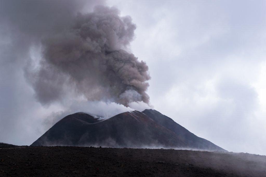 Il Cratere di Sud-Est, Etna