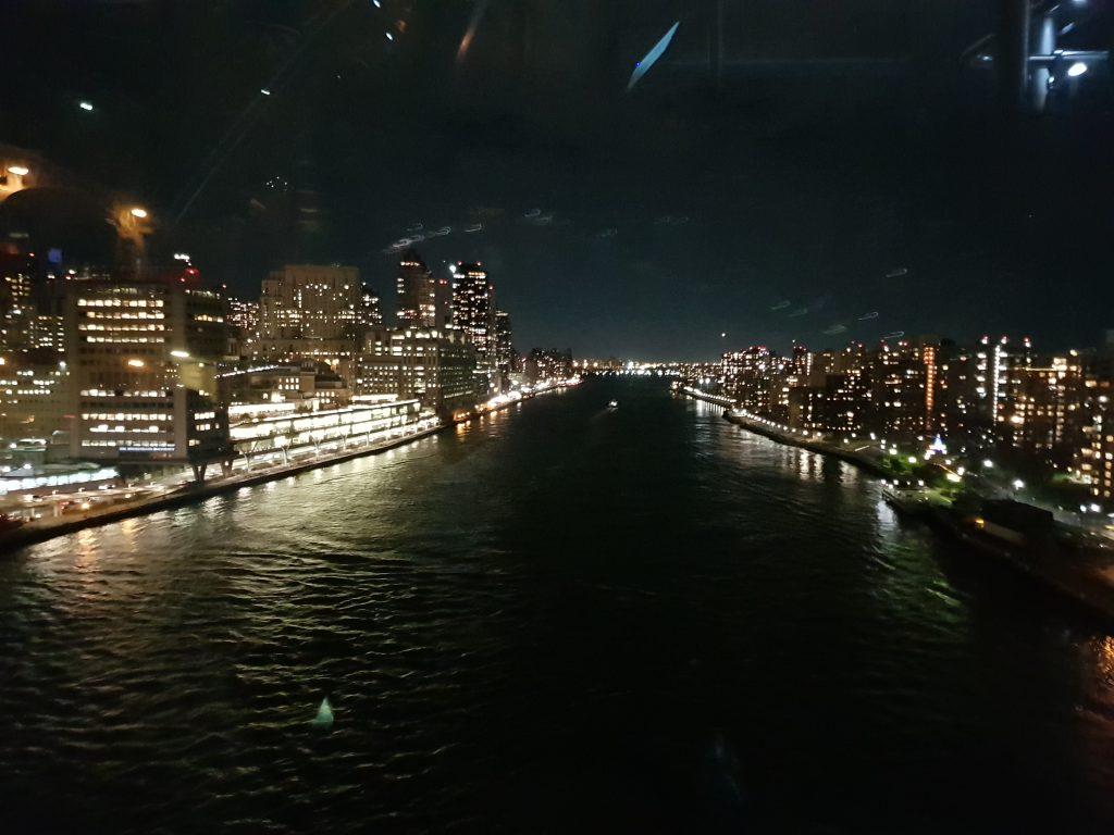 Panorama dalla funivia di Roosvelt Island, New York