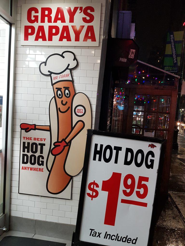 Gray's Papaya, New York