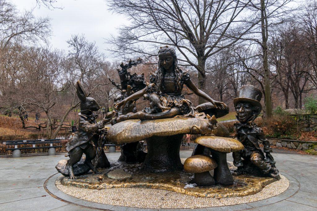 Alice nel paese delle meraviglie - Central Park, New York
