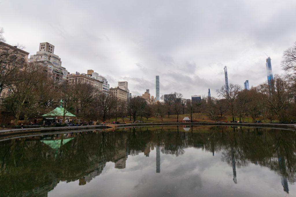The Lake - Central Park, New York
