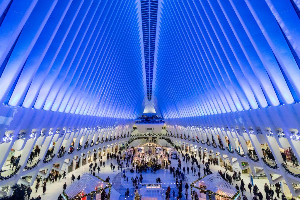 Oculus di Calatrava, New York