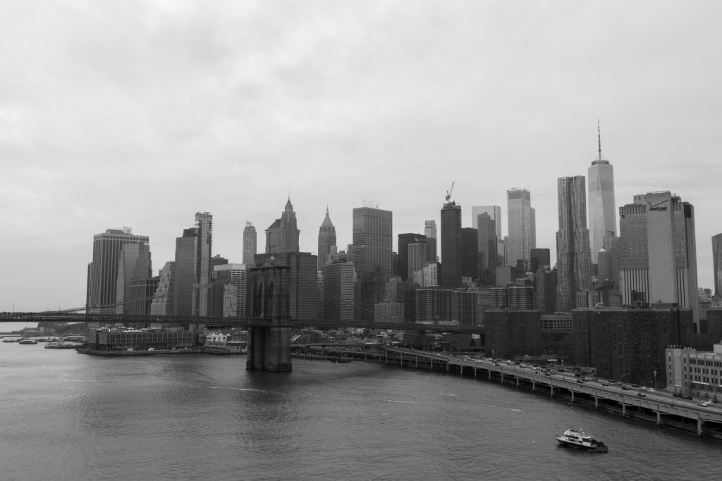 Panorama dal Manhattan Bridge
