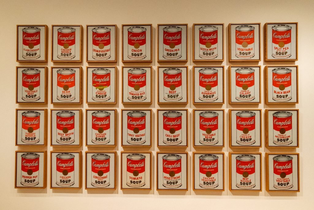 Campbell's Soup Cans di Andy Warhol - MoMa, New York