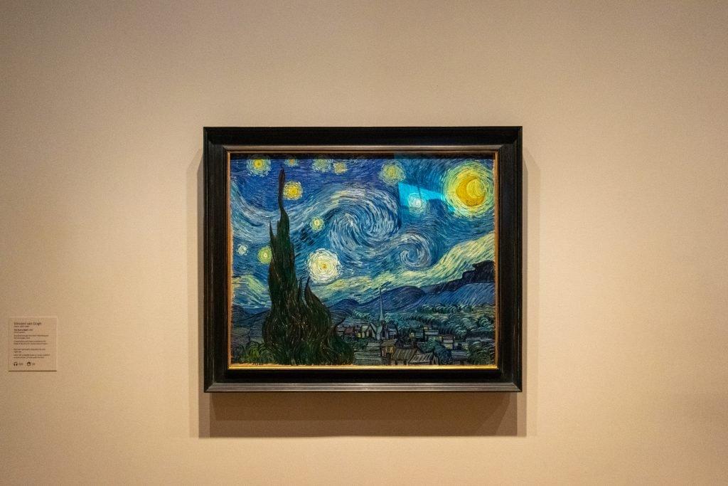 La Notte Stellata, Van Gogh - MoMa, New York